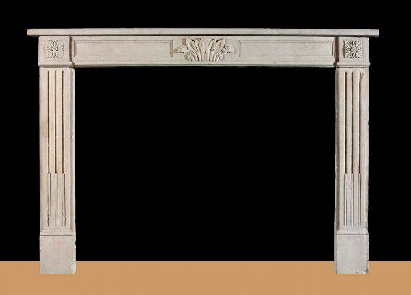 Портал для камина из мдф-эмаль