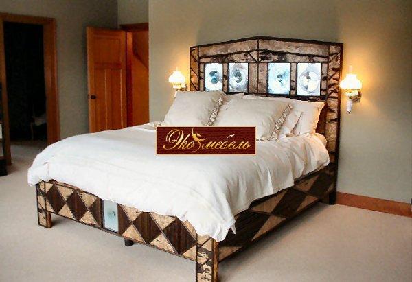 """Кровать двуспальная """"Викинг"""""""