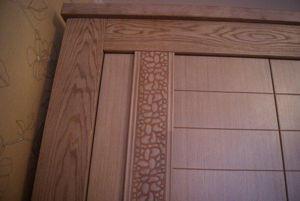 фрагмент шкафа с леопардом
