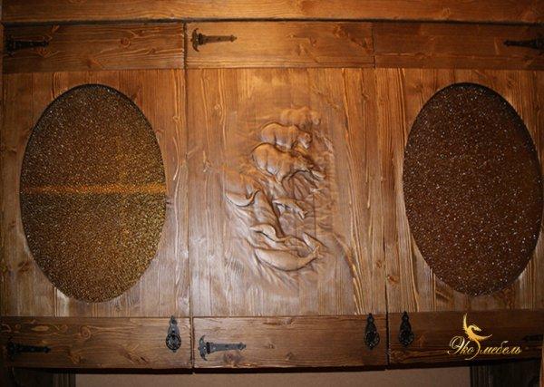 Мини-кухня под старину