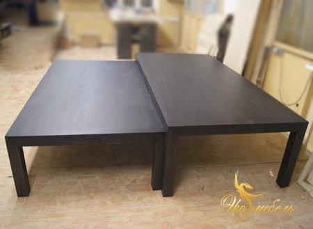 Столы 2200 мм для сауны из МДФ-шпон