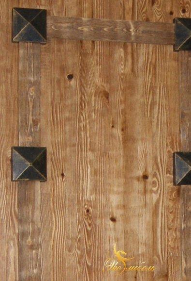 Текстура двери под старину, накладной декор