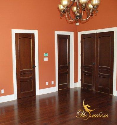 Двери межкомнатные с монтажом