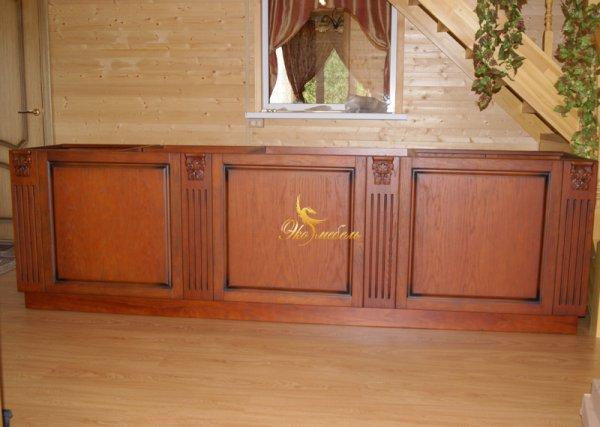 Барная стойка -кухня с капителями
