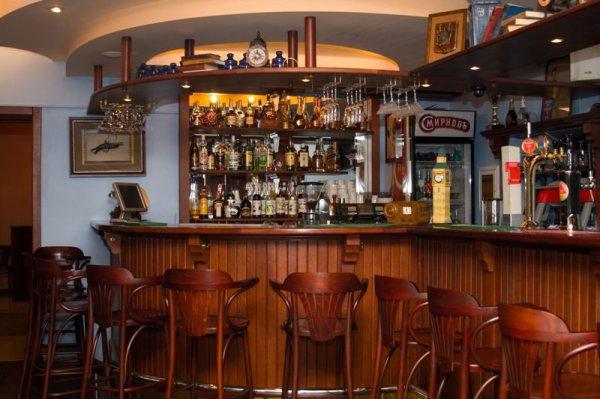 Стойка барная закругленная