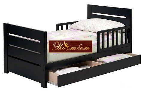 Кровать односпальная из дерева